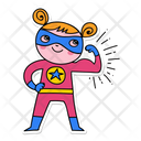 Super Girl Superhero Girl Icon