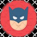 Super Hero Villain Warrior Icon