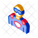 Mask Face Hero Icon