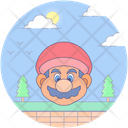 Super Mario Video Game Arcade Game Icon