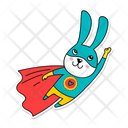 Super Rabbit Rabbit Hero Icon