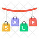 Hanging Sale Mark Super Sale Sale Coupons Icon