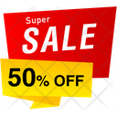 Super Sale Tag Tag Discount Tag Icon