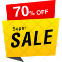 Super Sale Tag Banner Tag Icon