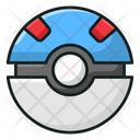 Bouncy Ball Kids Plaything Toy Icon
