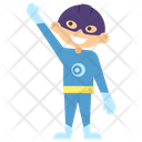Superboy Superhero Cartoon Comic Superhero Icon