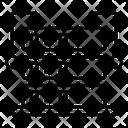 Supercomputer Data Storage Dataracks Icon
