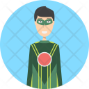 Superhero Character Profession Icon