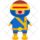 Superhero Man Avatar Icon