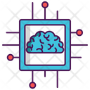 Superintelligence Intelligence Circuit Chip Icon