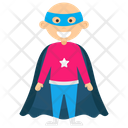 Superman Kid Superhero Cartoon Comic Superhero Icon