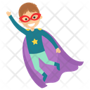Superman Flying Superhero Cartoon Comic Superhero Icon