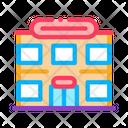 Supermarket Sale Store Icon