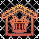 Stocks Storage Basket Icon