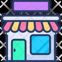 Supermarket Retail Shop Super Store Icon