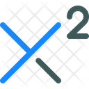 Superscript Font Format Icon
