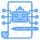 Supervised Learning Ai Learning Robot Learning Icon