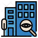 Supervise Supervision Office Icon