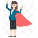 Superwoman Avatar Character Icon