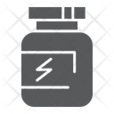 Supplement Protein Container Icon