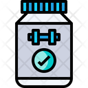 Supplement Protein Medicine Icon