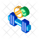 Supplement Fitness Gym Icon