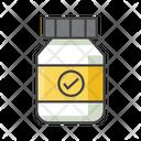 Supplement Protien Medicine Energy Medicine Icon
