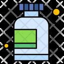 Supplement Bottle Medicine Icon