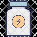 Supplement Nutrition Bottle Icon