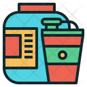 Supplement Protein Shaker Icon