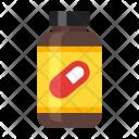 Supplement Bottle Icon