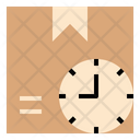 Supplies Parcel Time Icon
