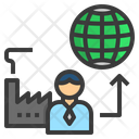 Supply Export Factory Icon