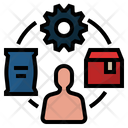 Supply chain Icon