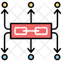 Supply Chain Network Icon