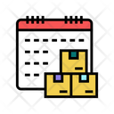 Date Time Supply Icon