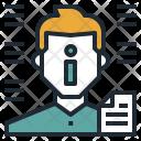 Information Man Avatar Icon