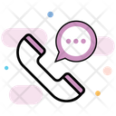 Customer Care Voice Call Support Icon