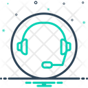 Support Headset Headphone Icon