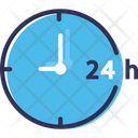 Support Hours Support Hours Service Icon
