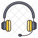 Support Headset Audio Icon