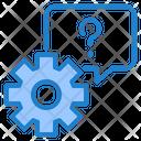 Setting Gear Help Icon