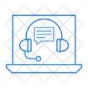 Support Laptop Device Icon