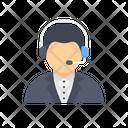 Support Call Center Helpline Icon