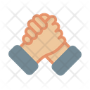 Support Shake Hand Hand Icon