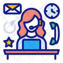 Support Call Center Customer Services Icon