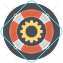 Support Lifering Lifebelt Icon