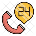 Support 24 Hour Icon