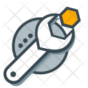 Support Wrench Maintenance Icon
