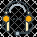 Support Headphone Communication Icon